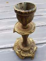 Brass Candle Holder J 2421