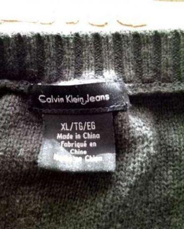 ff7222f0b26 Нарядная туника-платье серого цвета Calvin Klein  120 грн. - Женская ...