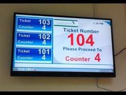 Queue / Line management system for bank, hospital, government institut