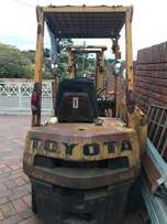 Toyota forklift 2tons