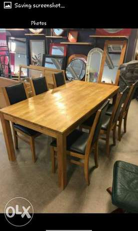 Solid wood matching tv cabinet, coffee table, dinning tables Nairobi CBD - image 6