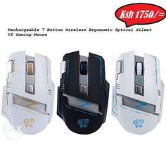 Rechargeable Wireless Mouse and Keyboards
