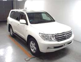 Land Cruiser AX Model Pearl colour 2010