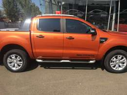 2015 Ford Ranger 3.2 Hi-Rider Wildtrak Double Cab,