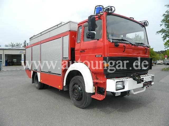 Iveco Magirus 120 23AW RW2 Rüstwagen 4x4 Feuerwehr - 1992