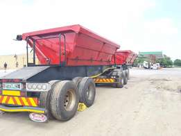 2013 SA Truck Bodies Linked Side Tipper Trailer