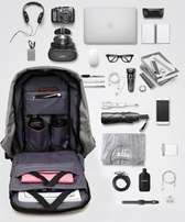 Anti Theft Waterproof - Laptop Backpack With USB Chager