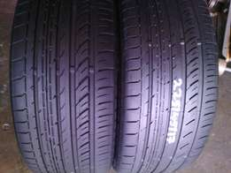 225/45/R17 toyo tyres are in a good condition each is R750