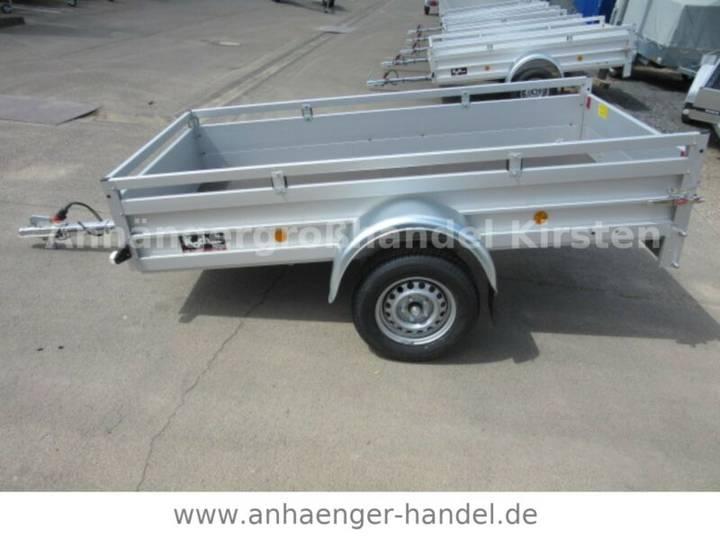 Koch U 4 ALU+ Reling 2,50x1,25x0,45m VORRAT 750 kg - 2019