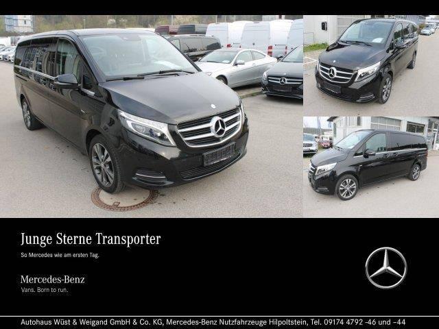 Mercedes-Benz V 220 d AVANTGARDE Lang Autom.+Comand+Leder+Pano - 2016