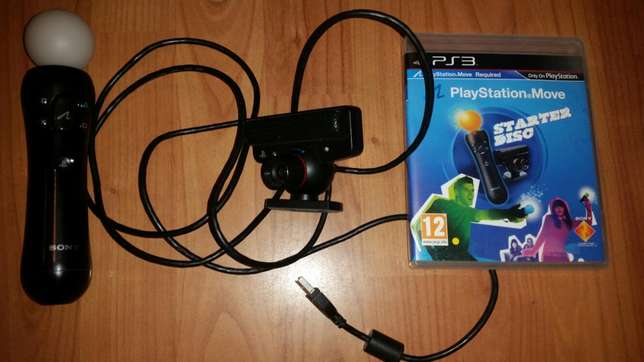 Playstation move starter set, wand, camera and starter disc Wetton - image 1