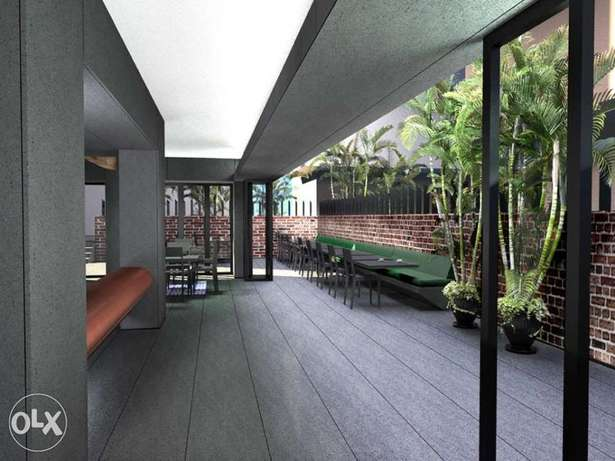 Lounge bar or creative office badaro with large Terrace