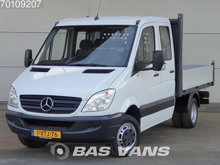 Mercedes-Benz Sprinter 513 CDI 130pk Open Laadbak DC Doka Airco Trekhaa... - 2012