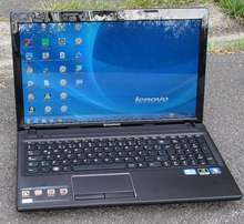 "Lenovo G580 Dual core, Display 15,6"", RAM 2 GIG,"