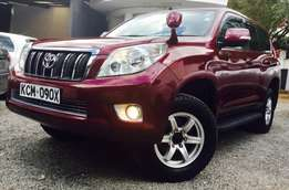 toyota prado 2010 wine red just arrived kcm loaded edition 4,199,999/=
