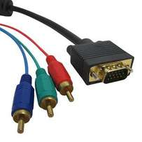 VGA to 3 RCA Audio-Video Cable
