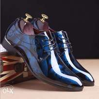 Men's pointed Leather Shoes Italian