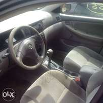 Just arrived 2006 toyota corolla lagos cleared in excellent condition.