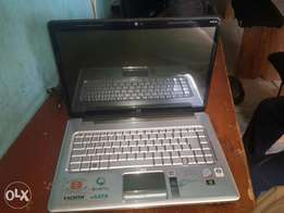 Laptop hp pavilion5,with 3gig ram and 300 hard disk,over 2 hours batte