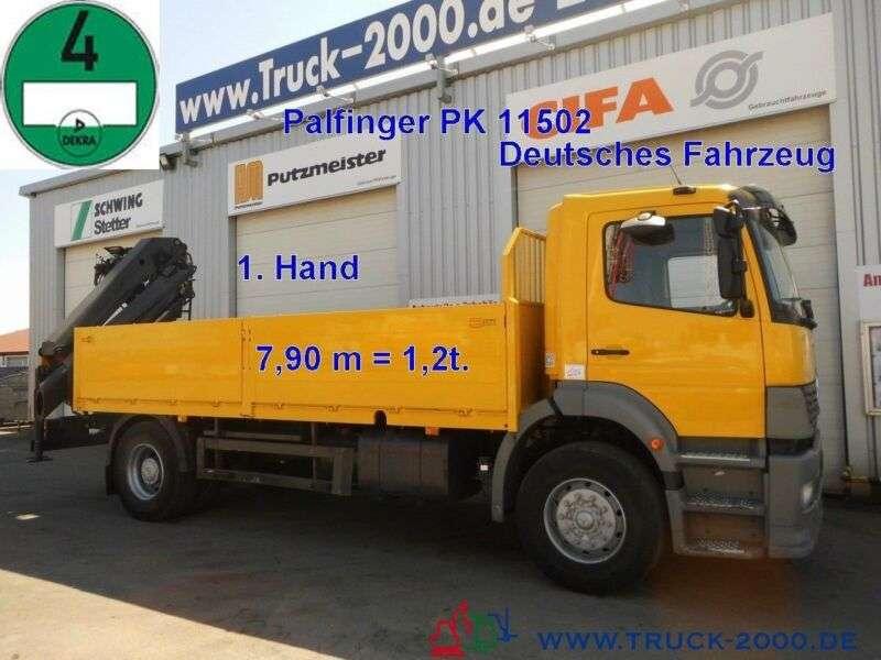 Mercedes-Benz 1828 PK 11502 7,9m=1,2t.*5.+6.Steuerkreis*1.Hand - 2004