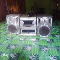 AWIA T-BASS Audio system, with a power fault , 3D speakers