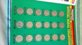 Cricket Coin Collection from 1992 India Tour