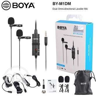 Boya M1Dm, Double Side Microphone