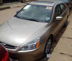 Tokunbo 2004 Honda Accord EOD (TINCAN CLEAR)