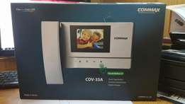 """Brand new commax 3.5"""" led touch button video kit"""