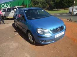 2009 vw polo 1.6 Trendline in good condition.