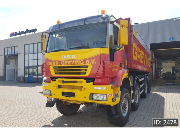 Iveco Trakker AT440T44 Active Day, Euro 3, NL TRUCK 8X8 wide sp... - 2008