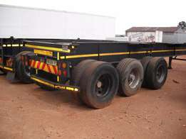12M Skeletal trailers for sale