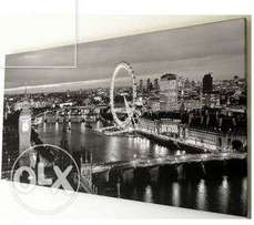 London city canvas wall art large picture