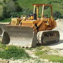 Caterpillar track shovel for hire and other construction machines
