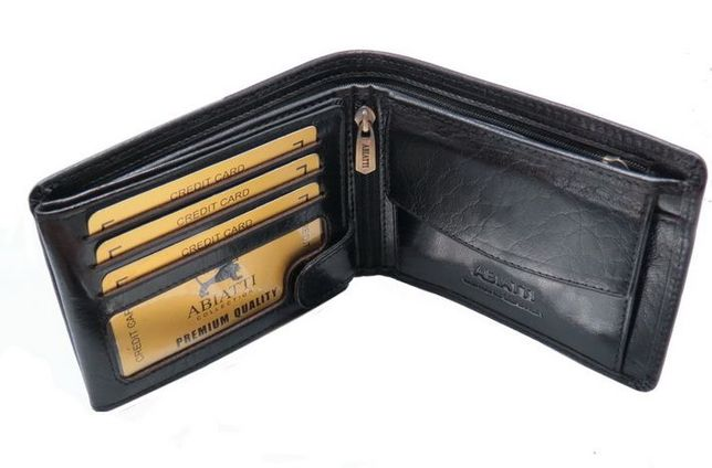 ba0d923ff69ca EKSKLUZYWNY skórzany portfel męski ABIATTI -50% ! Piekary Śląskie - image 4