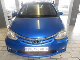 2014 Toyota ETIOS 1.2 for sale R90 000