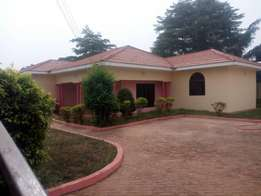 Three bedroom house with boys quarters at spintex