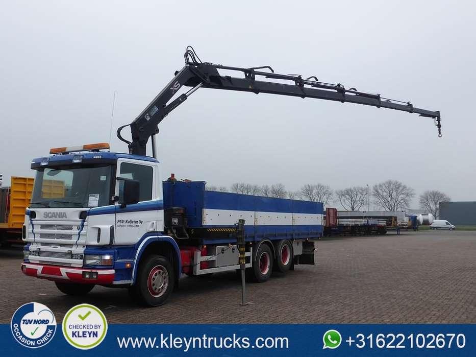 Scania P94.310 6x2 hiab 166d5 - 2000