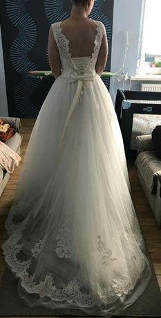 Suknia ślubna Victoria Soprano Joyce Pudrowy Róż Kluczbork Olxpl