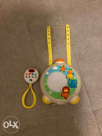 Mothercare sensory Music and projector box