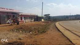 100 by 100 Plot ,2nd from tarmac in Kikuyu Kamangu