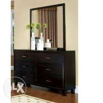 Dressing Mirror With 6 Drawers.