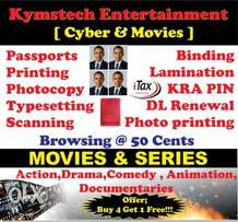 kymstech movie shop attendant