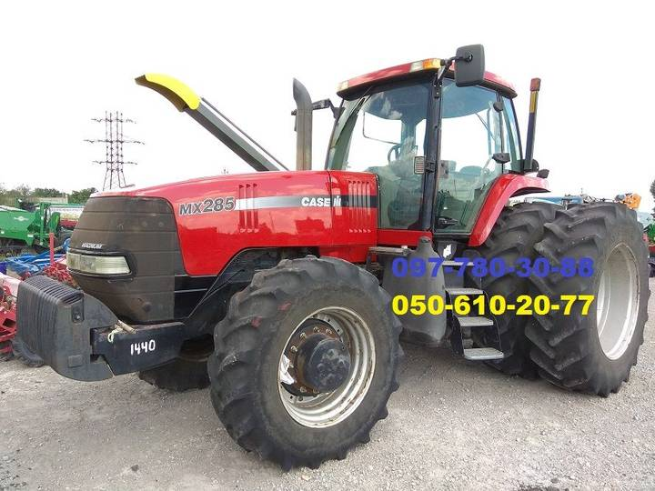 Case 285 MX  (B/U) wheel tractor