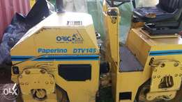 Two drum ride on roller compactor bitelli