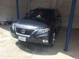 A Barely Used Lexus Rx 350 Up 4 Grab in Uyo Akwa Ibom