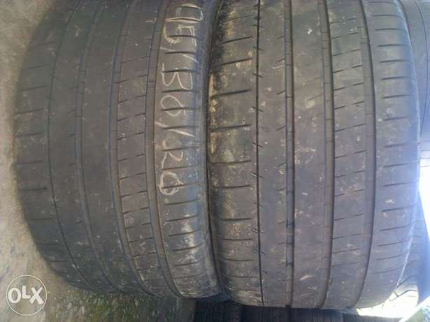 295/30/20. two xcellent tyres and more 19/20 Durban North - image 1