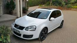 Vw Golf GTI with sunroof