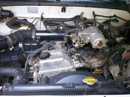 Hilux 3Rz engine and gearbox for sale.