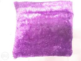 Floor Pillow- Fluffy 25″ by 25″ Purple